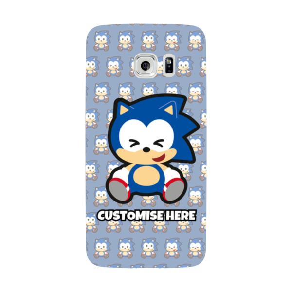Samsung Galaxy S7 EDGE Phone Case - Sonic Emoji - Modern sonic