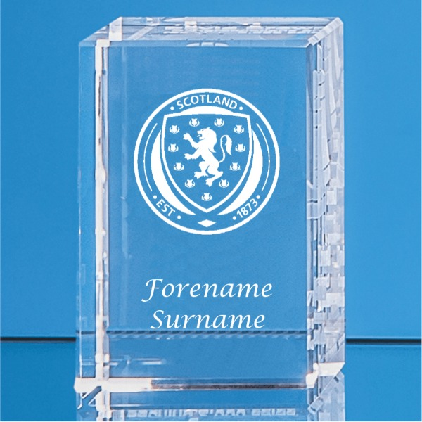 Scotland Crystal Rectangle
