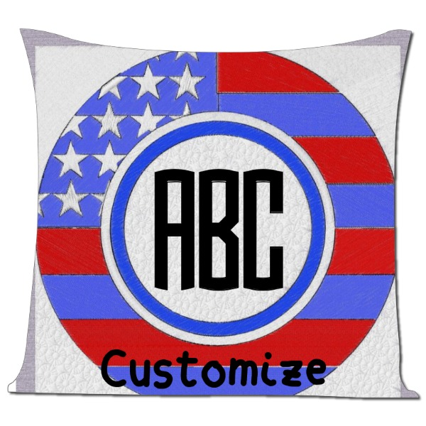My Flag - Pillow Cover Polyester Canvas Square 40cm