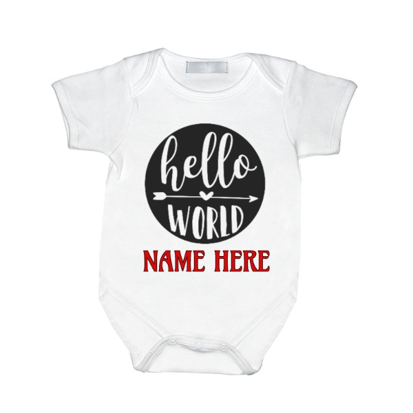 Hello world - Baby One Piece
