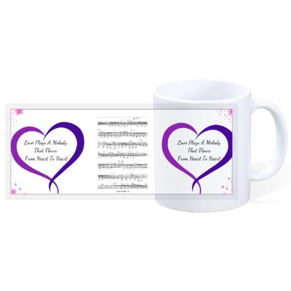 Heart Song - 11oz Ceramic Mug