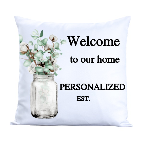 cotton pillow cover - Pillow Cover Polyester Canvas Square 40cm