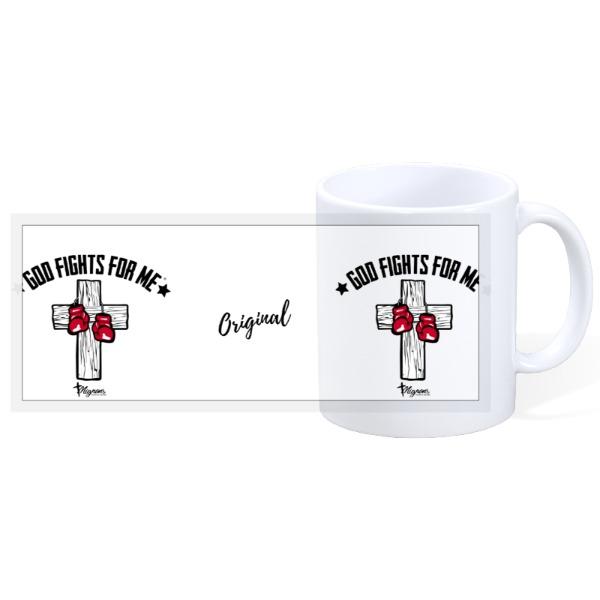 God Fights Mug - 11oz Ceramic Mug
