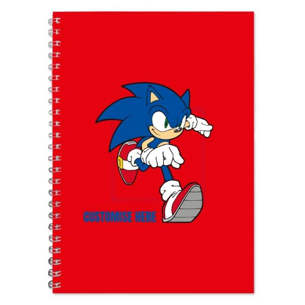 A5 Notebook - Running Sonic - Modern sonic