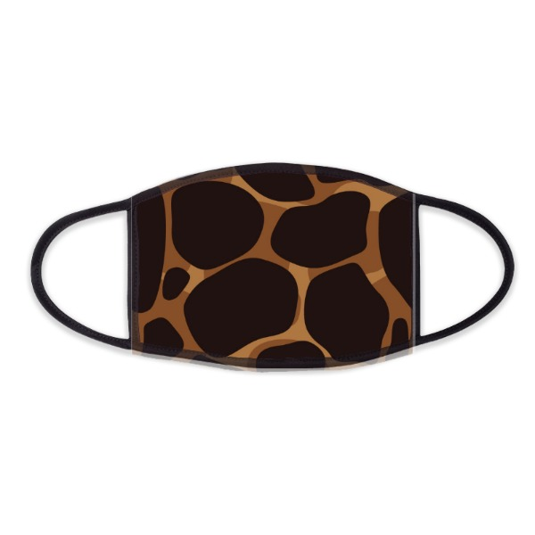 Leopard Face Mask - Face Mask- Small