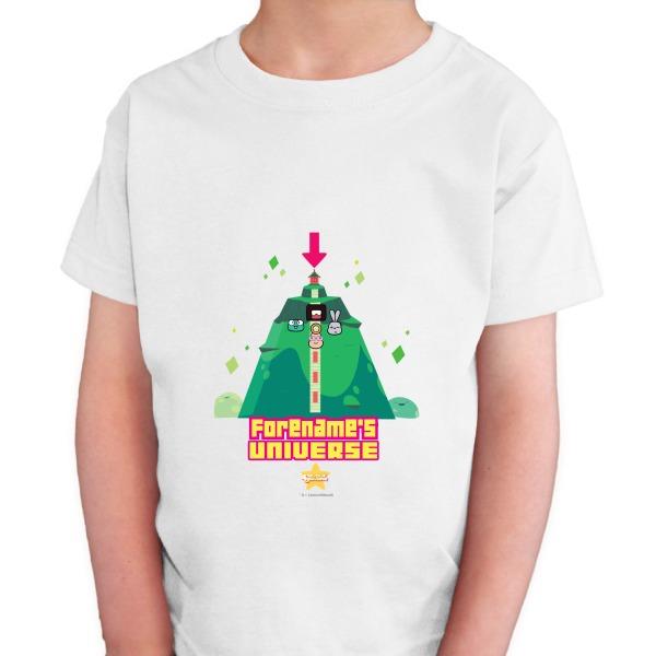 Steven Universe Name's Universe Kids T-shirt