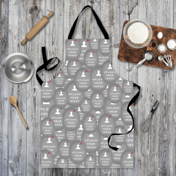 Faces All Over - Apron - Adult Size