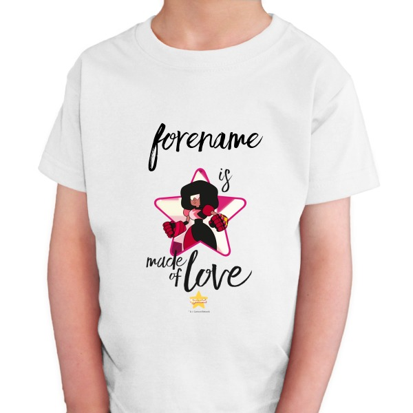Steven Universe Made Of Love Kids T-shirt
