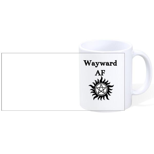 Wayward Supernatural - Wayward SPN - Mug Ceramic White 11oz