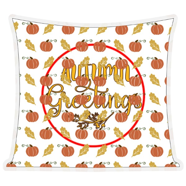 autumn greetings  - Autumn Greetings - Pillow
