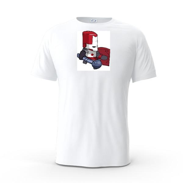 Red Knight Castle Crashers - Mens Solar Short Sleeve Small Print Area