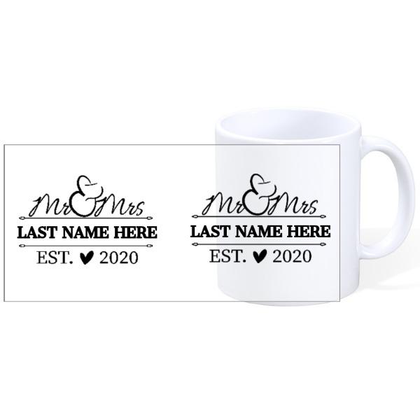 Mug Ceramic White 11oz
