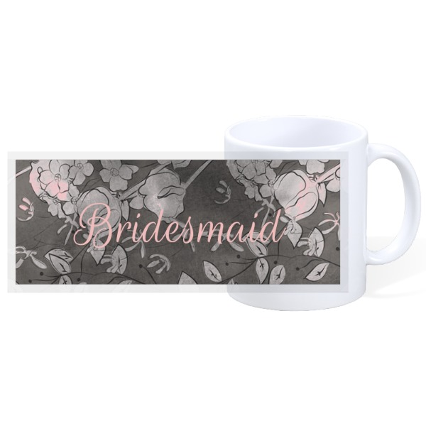 Braidesmaid Pink - 11oz Ceramic Mug