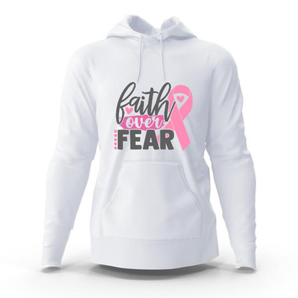 Faith over Fear - Hoody Sweatshirt