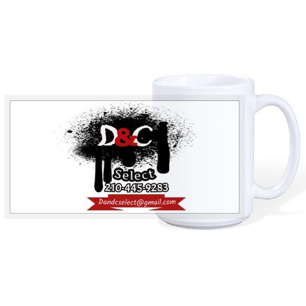 Business logo - 15oz Ceramic Mug