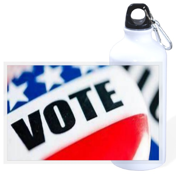 Vote - 20oz Travel Bottle