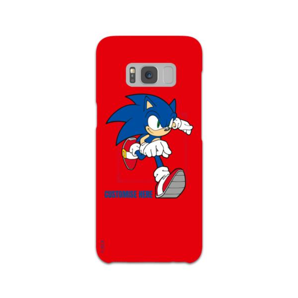 Samsung Galaxy S8 Phone Case - Sonic Running - Modern Sonic