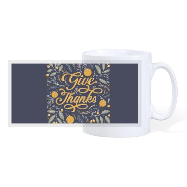Vik's T'Giving - 10oz Ceramic Mug