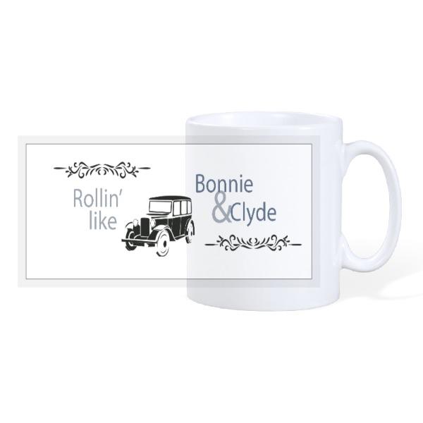rollin' like - 10oz Ceramic Mug