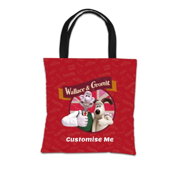 Aardman Wallace And Gromit Thumbs Up Tote Bag