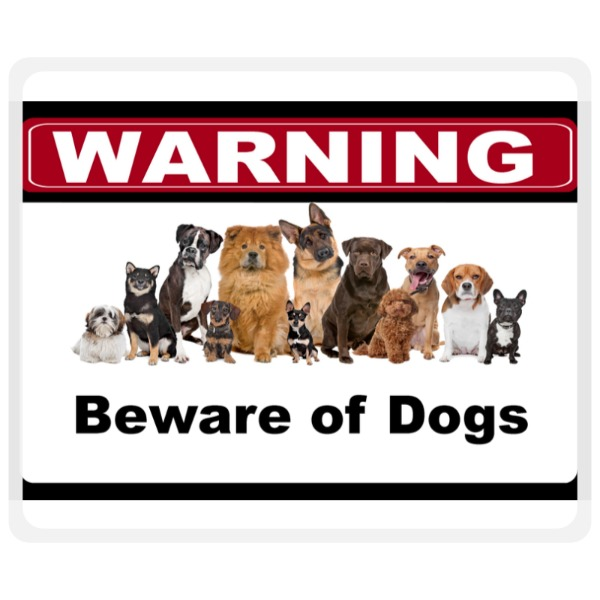 Beware of Dogs - Mousepad