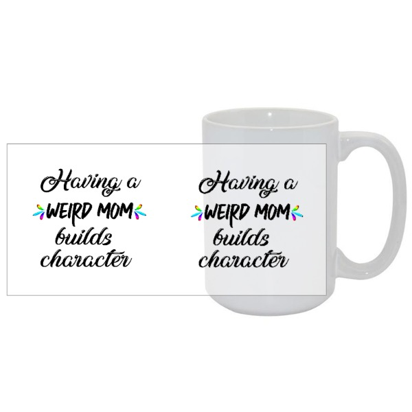 15oz Classic White Mug