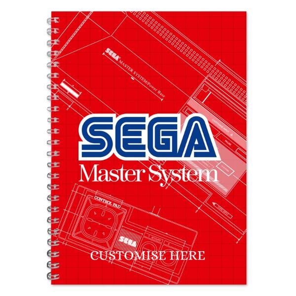 A5 Notebook - Master System Print - Retro Sega