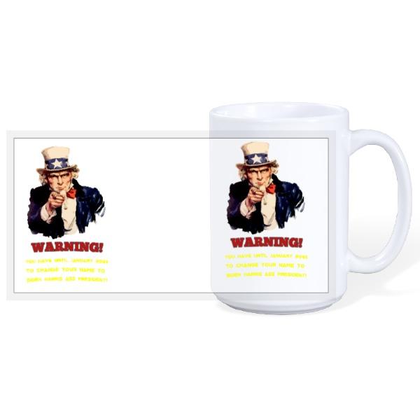 Biden Harris Wants You! - 15oz Ceramic Mug