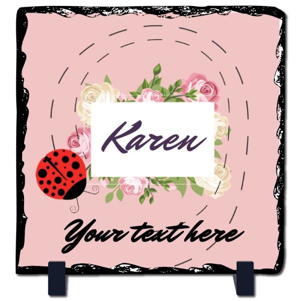 Karen - Slate Photo Panel Square