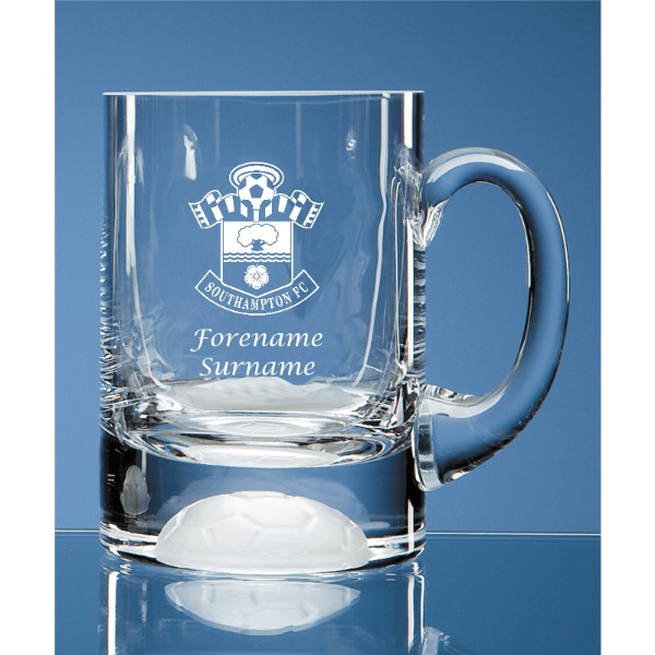 Southampton FC Personalised Crest Ball Base Tankard