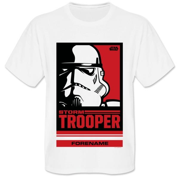 Star Wars Storm Trooper Pop Art Mens T-shirt Mens T-Shirt