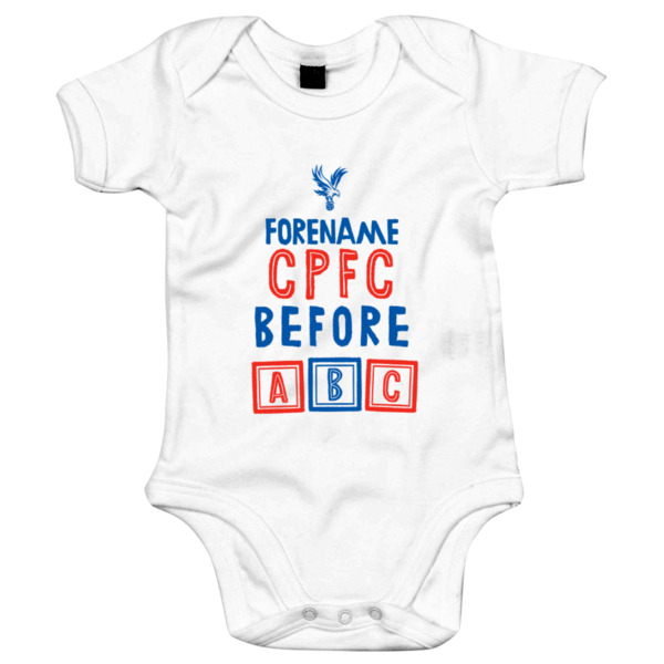 Crystal Palace Before ABC Baby Bodysuit