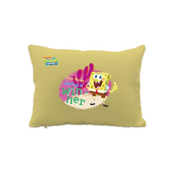 Personalised SpongeBob Cushion - You're A Winner