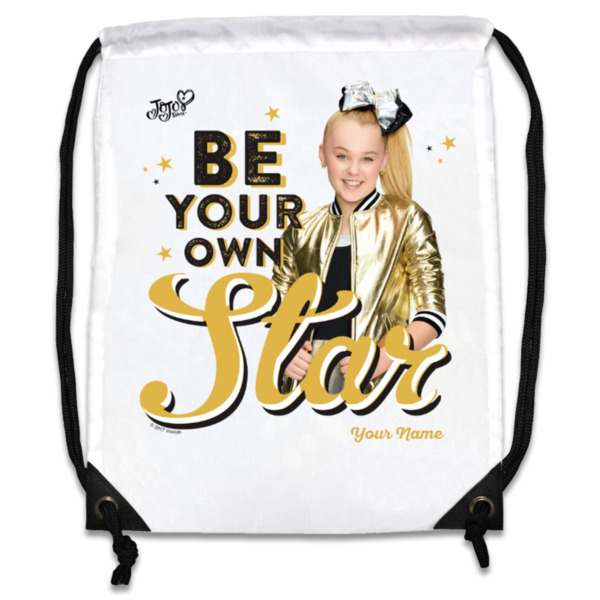 JoJo Siwa Personalised Gym Bag - Be Your Own Star