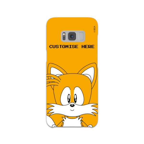 Samsung Galaxy S8 Phone Case - Tails Face - Classic Sonic
