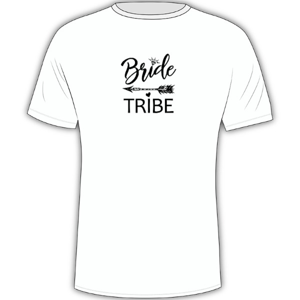 Bride Tribe - Mens Solar Short Sleeve Small Print Area