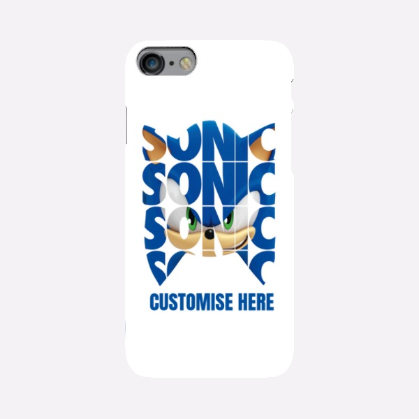 iPhone 7 Case - Sonic Text - Modern Sonic