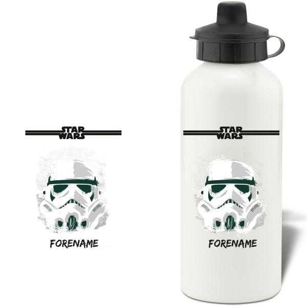 Star Wars Storm Trooper Paint Aluminium Water Bottle