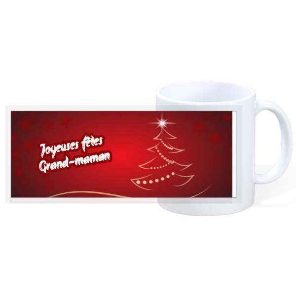 Tasse Noel Rouge - 11oz Ceramic Mug