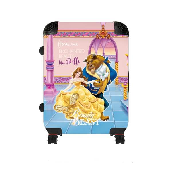 Disney Beauty and The Beast Dance Medium Suitcase
