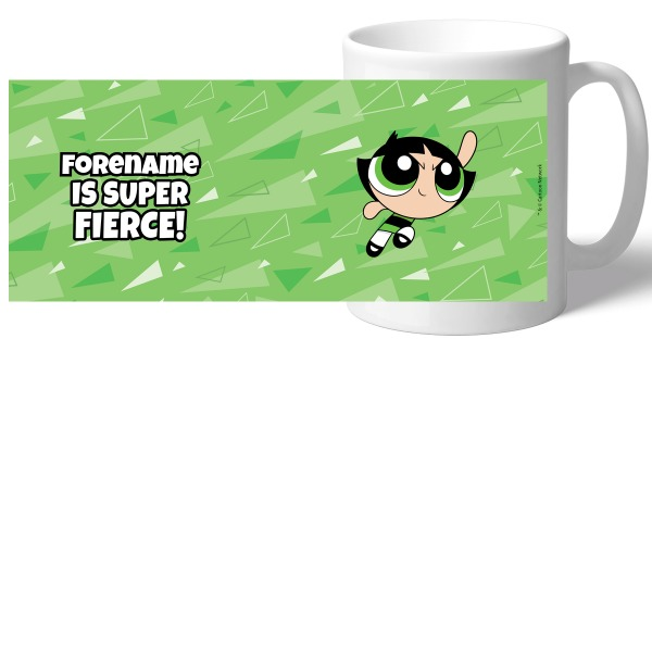 Powerpuff Girls Buttercup Pattern Mug