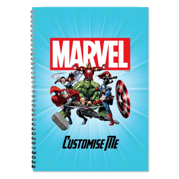Marvel Avengers Group A4 Notebook