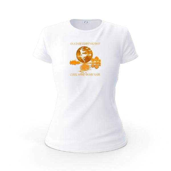Bruja Volando - Ladies Solar Short Sleeve Small Print Area