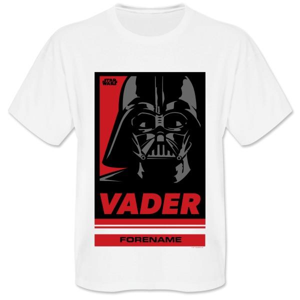 Star Wars Vader Pop Art Mens T-shirt
