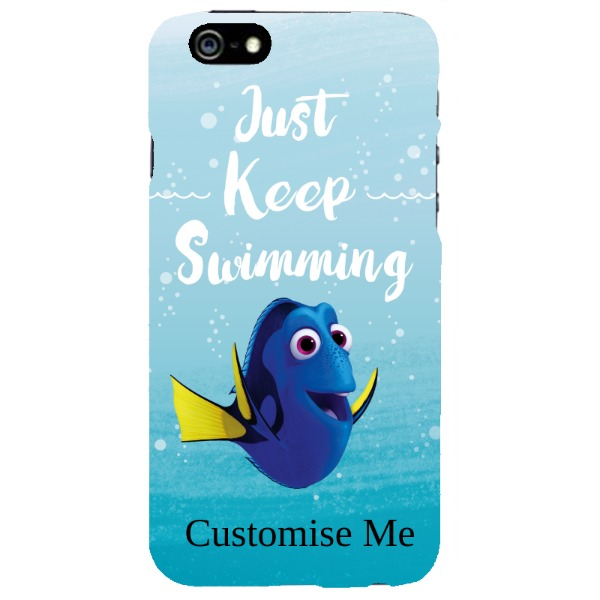 Disney Finding Dory 'Just Keep Swimming' iPhone 6/6s Clip Case