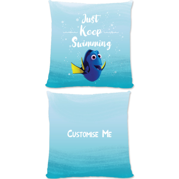 Disney Finding Dory 'Just Keep Swimming' Large Fiber Cushion