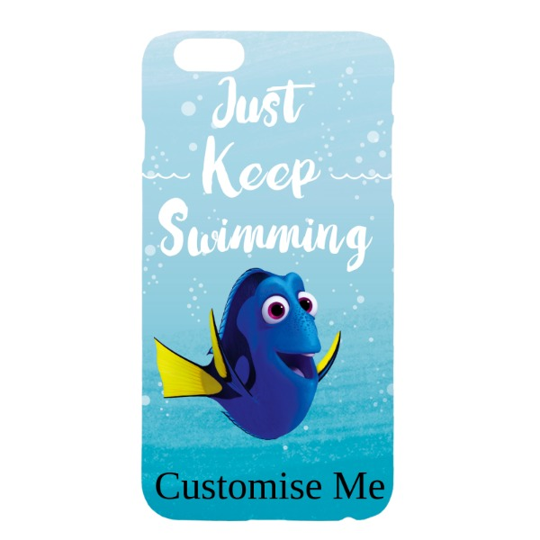 Disney Finding Dory 'Just Keep Swimming' iPhone 6+/6s+ Clip Case