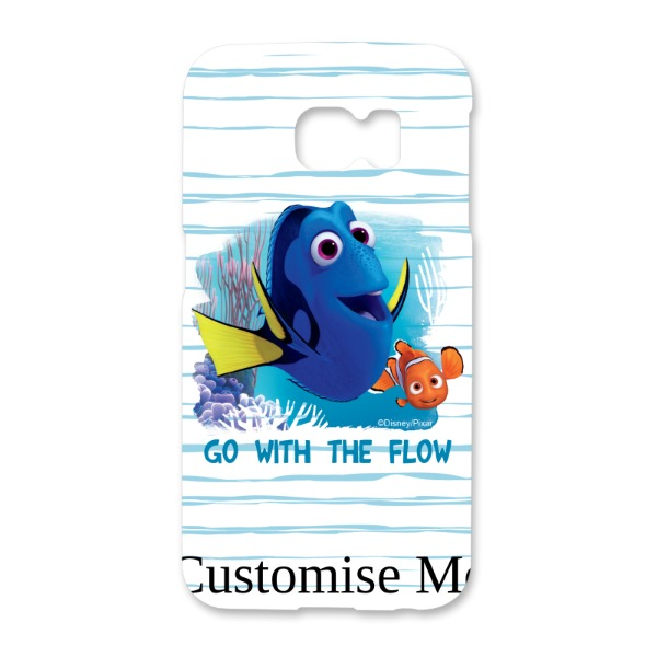 Disney Finding Dory 'Go With The Flow' Samsung Galaxy S6 Edge Phone Case