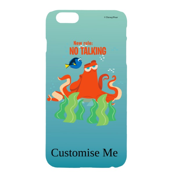 Disney Finding Dory Hank 'New Rule, No Talking' iPhone 6+/6s+ Clip Case