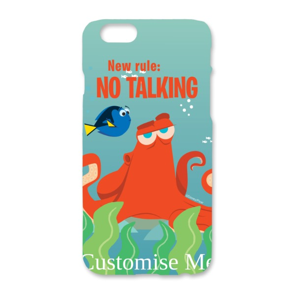 Disney Finding Dory Hank 'New Rule, No Talking' iPhone 6/6s Clip Case